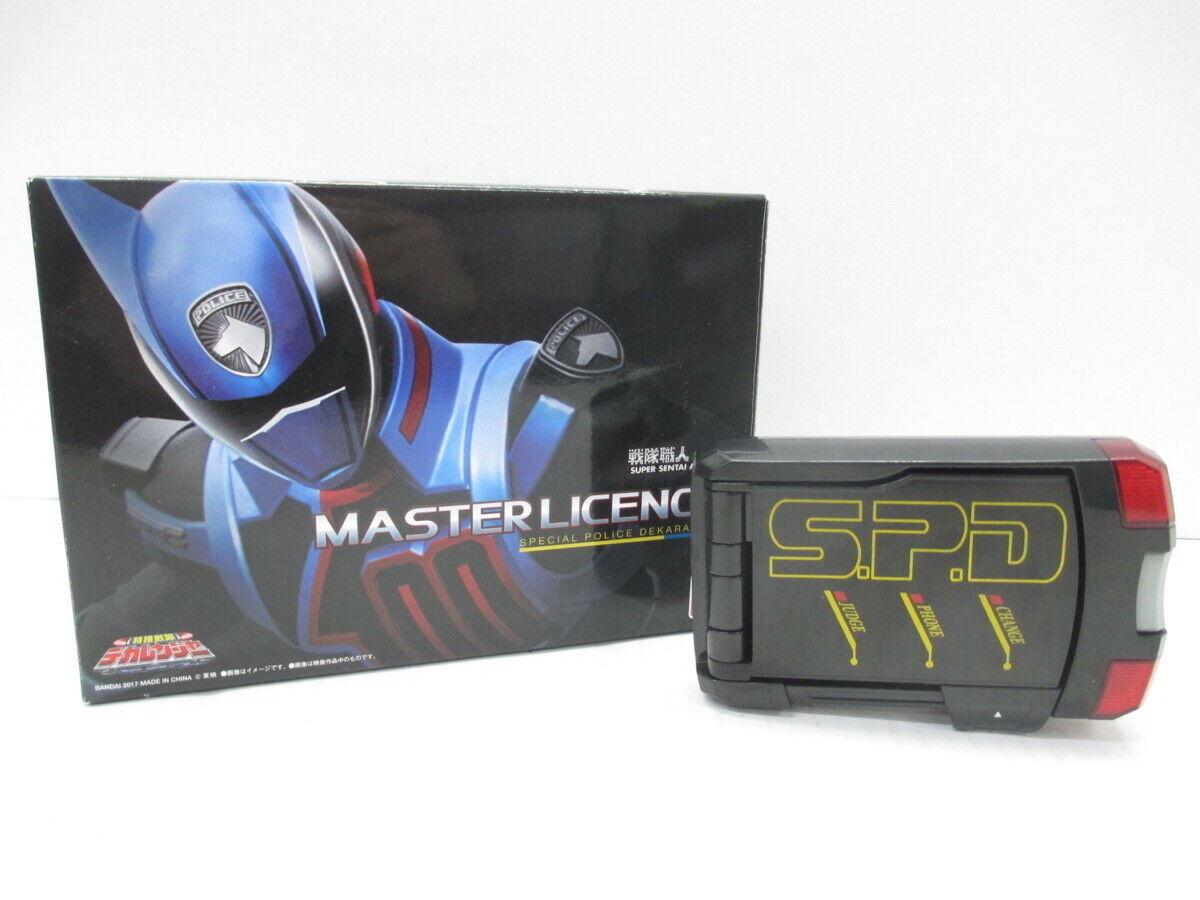 barato en alta calidad Power Rangers SPD Master licencia súper Sentai Artisan Dekaranger Dekaranger Dekaranger  mejor precio