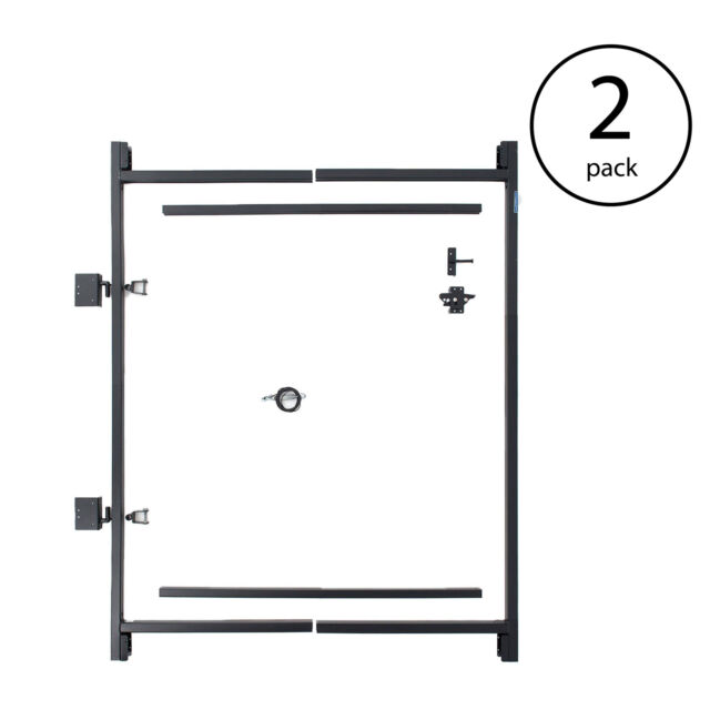 Steel Frame Gate Building Kit 36-60 Inches Wide Openings up to 5 ...