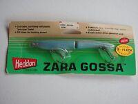 Heddon Zara Gossa Blue Fleck Fishing Lure Blister Pack Old Stock