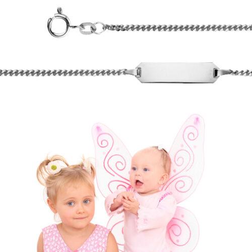 Paten Geschenk zur Taufe Baby Armband mit Namen und Datum Gravur Echt Silber 925