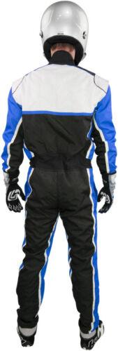 Pro CoolMAX Kart Racing Rated Youth /& Adult K1 Apex II Karting Suit