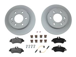 Front Rear Disc Brake Rotors And Ceramic Pads Kit For Sprinter 2500 Mercedes-Benz Dodge Freightliner