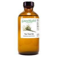 8 fl oz Tea Tree Essential Oil (100% Pure & Natural) Glass Bottle