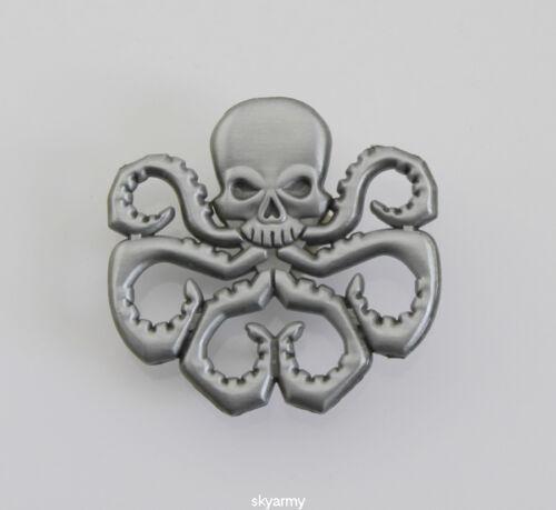 Avengers Captain America Hydra/Red Skull HYDRA LAPEL PIN CAP BADGE