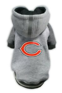 Chicago-Bears-NFL-Little-Earth-Production-Dog-Pet-Crewneck-Gray-Hoodie