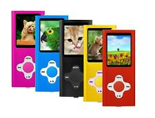 MP3 Player Music Media 8GB Internal Memory With Radio, Voice Recorder, Games