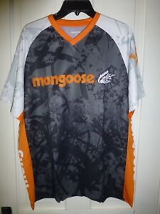 XL-Mongoose-BMX-Bikes-T-Shirt-Jersey-Cooling-Moisture-Wicking-Comfort-Fabric