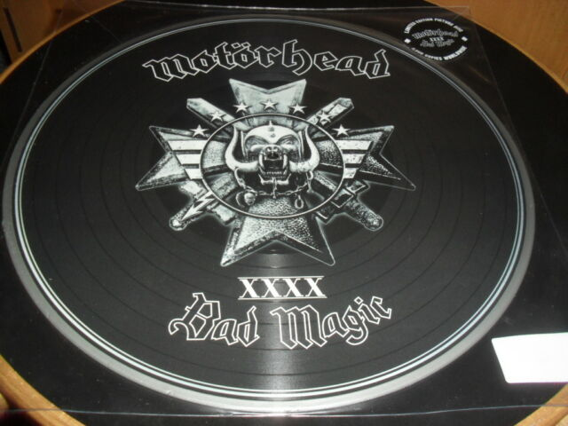 MOTORHEAD -BAD MAGIC- AWESOME LTD EDITION PICTURE DISC LP LIMITED TO 5000 ONLY