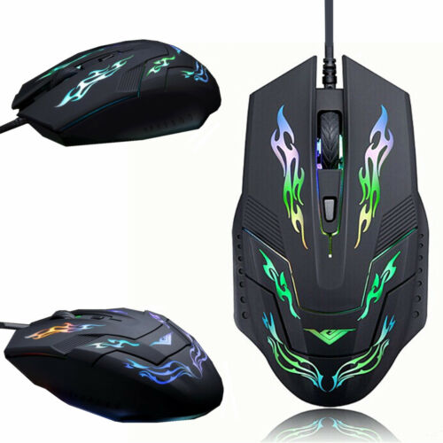 2400DPI LED Optical 6D USB Wired Gaming Game Mouse Pro Gamer Computer Mice Gift
