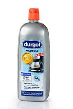 Durgol Express Entkalker für Espressomaschinen und Kaffeevollautomaten 8 x 1 L.