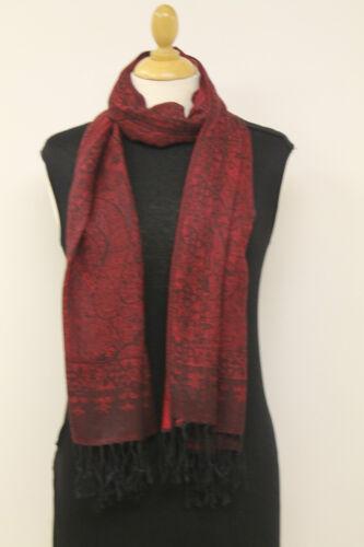 Ladies Beautiful Paisley Pattern Pashmina  Tassel Scarf Hijab Shawl Wrap Gift