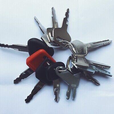 58 Keys Construction Ignition Key Set Heavy Equipment Keys for John Deere,Bobcat,New Holland,Komatsu