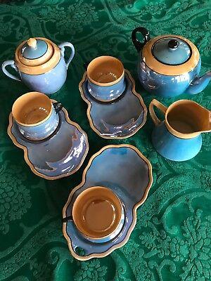 Japanese Lustreware Tea Set