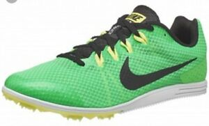 NIKE-Zoom-Rival-D-9-Mens-806556-303-Green-Track-amp-Field-Distance-Racing-Spike