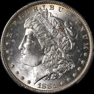 1881-O-Morgan-Silver-Dollar-PCGS-MS63-Nice-Eye-Appeal-Nice-Luster-Nice-Strike