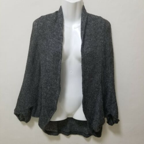 Anthopologie Heather Cardigan Cocoon Dark Gray Coc