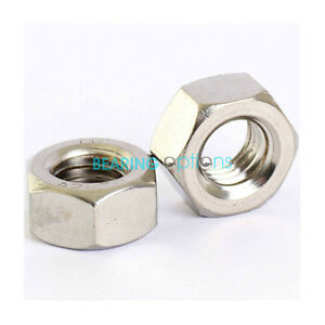 BEARING OPTIONS 3/16 1/4 5/16 3/8 1/2 5/8 BSW (Whitworth) STEEL NUTS