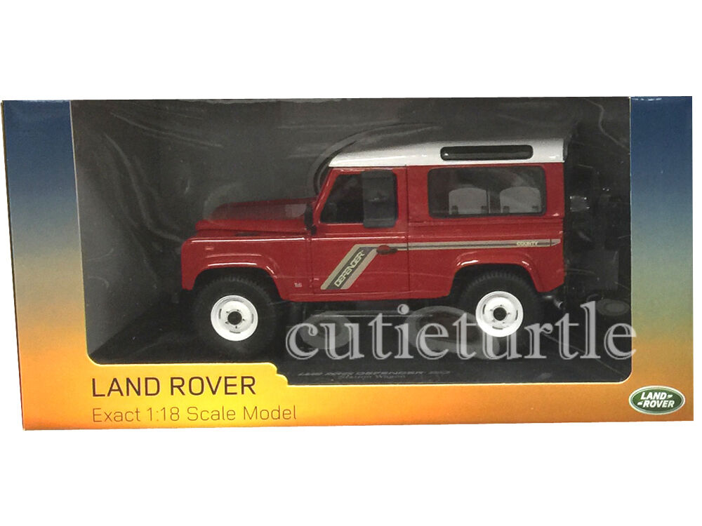 Universal Hobbies Land Rover Defender 90 Country Wagon TDi 1 18 Red UH3880