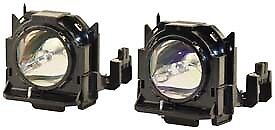 ET-LAD60AW REPLACEMENT LAMP /& HOUSING FOR PANASONIC D6000 2 PACK