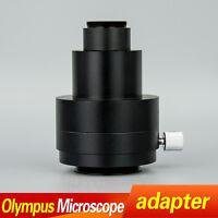 U-TV1X-2 phototube 1X CCD C-mount adapter for Olympus Microscope AX BX41 BX51 MX