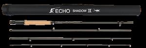 Caña De Mosca Echo Shadow II - 10' - 2wt - 4pc -  Nueva con garantía