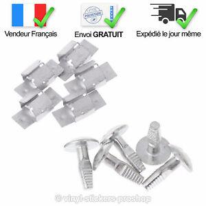 Kit-5-Clips-5-Vis-de-Fixation-Protection-Sous-Moteur-pour-Peugeot-et-Citroen