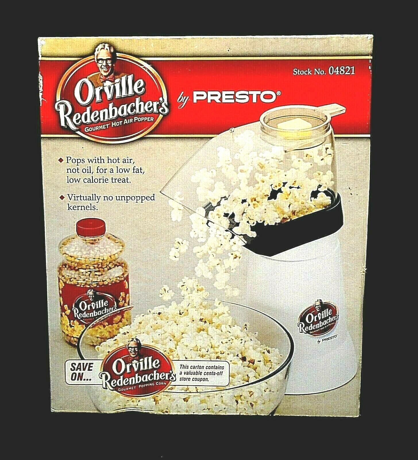 Presto 04821 Orville Redenbachers Hot Air Popper 2-PACK