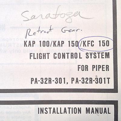 KAP 100 KAP 150 KFC 150 Into PA 32R 301 PA 32R 301T Install Adjust Manual EBay