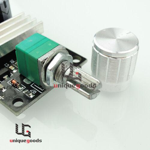 6v 12v 24v 3a pwm dc motor speed controller variable speed for Variable speed dc motor control