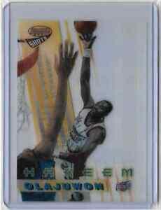 1997-Bowmans-Best-Shots-Hakeem-Olajuwon-RARE-Refractor-HOF-Hall-of-Fame-INVEST