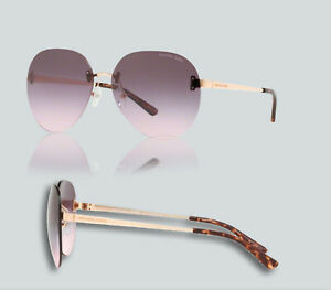 Details about Authentic Michael Kors 0MK 1037 SYDNEY 11085M ROSE GOLD Sunglasses