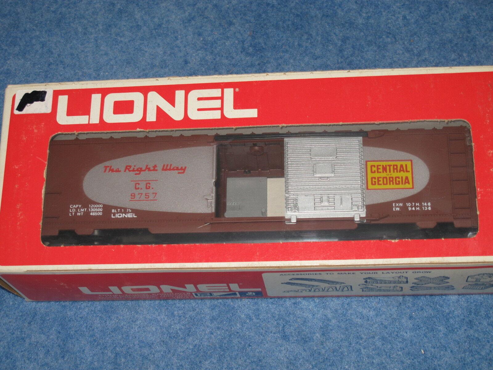 1975 Lionel 6-9757 Central of Georgia Box Car L1268