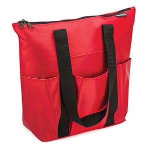 b821155997d8 Details about Hopkins Medical Red Nylon 3 Pocket Tote for Home Health  Nurses and Medical Pr...