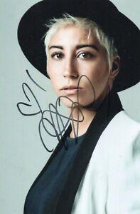Foto-Autografo-Autografata-Malika-Ayane-Signed-Photo-Italian-Singer-Music