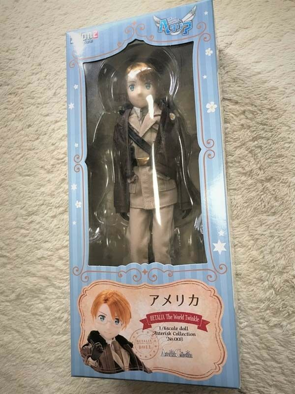 AZONE Asterisk Collection 008 Hetalia The World Twinkle America 1/6 doll