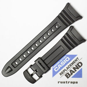 CASIO-black-rubber-watch-band-for-W-96H-10076822