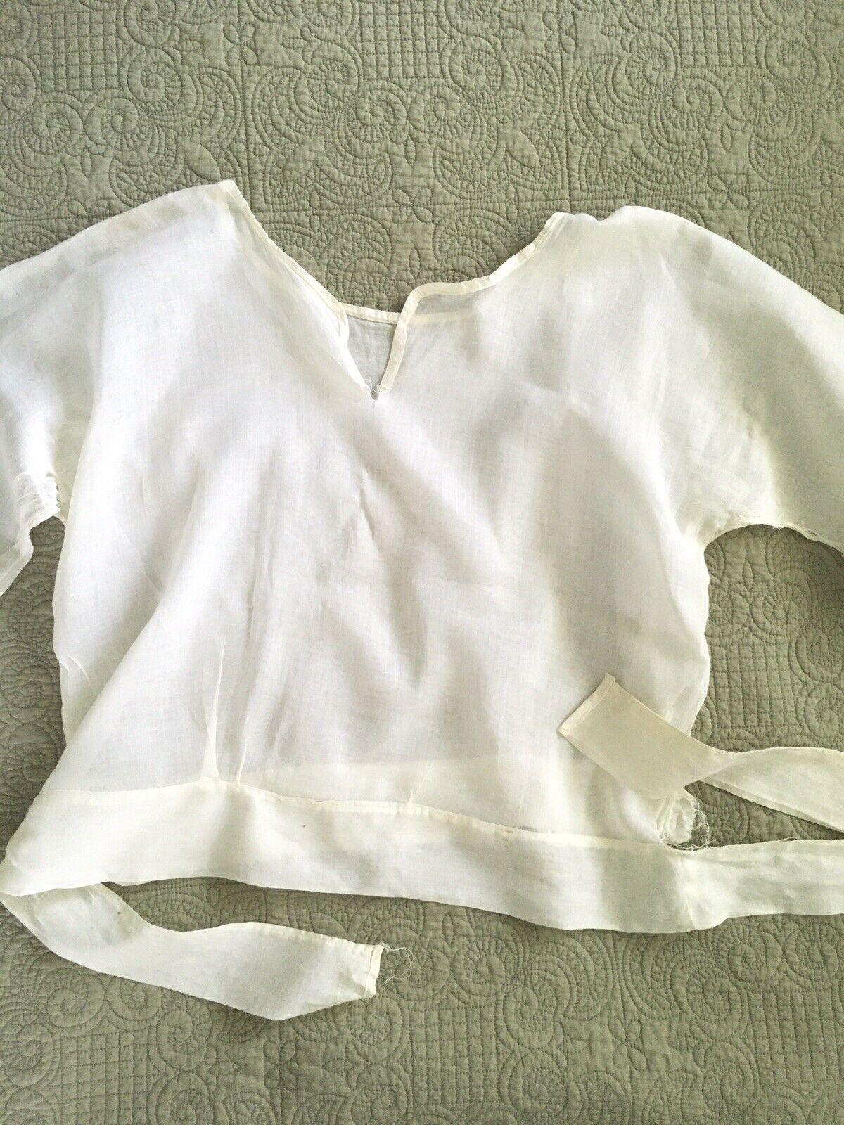 Antique Edwardian Victorian Shirtwaist Blouse - image 3