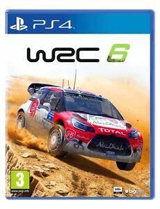 WRC-6-PS4-WORLD-RALLY-CHAMPIONSHIP-PlayStation-4-Gioco-Sigillato-Nuovo-di-zecca-e
