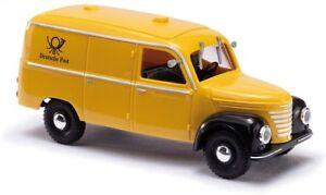 Busch 51205 - 1/87/h0 Framo v901/2 Camionnette-Deutsche Post-Neuf  </span>