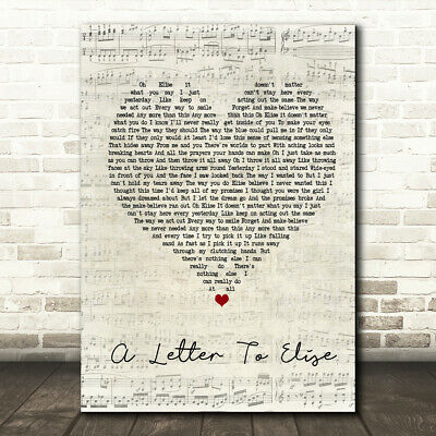 I Don/'t Want To Talk About It Script Heart Song Lyric Quote Print