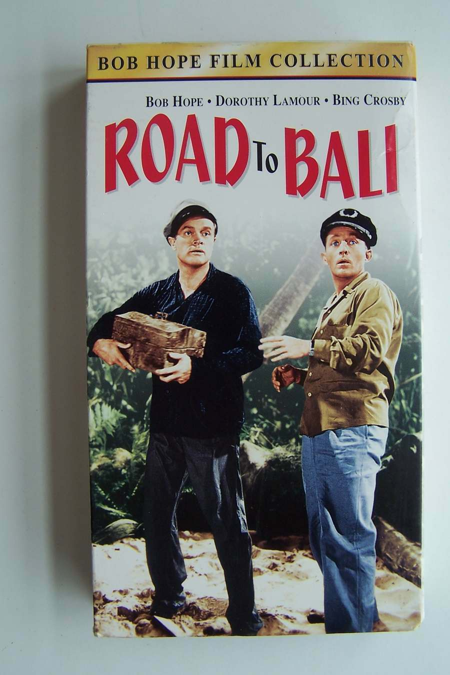 The Road to Bali VHS Video Tape 1953