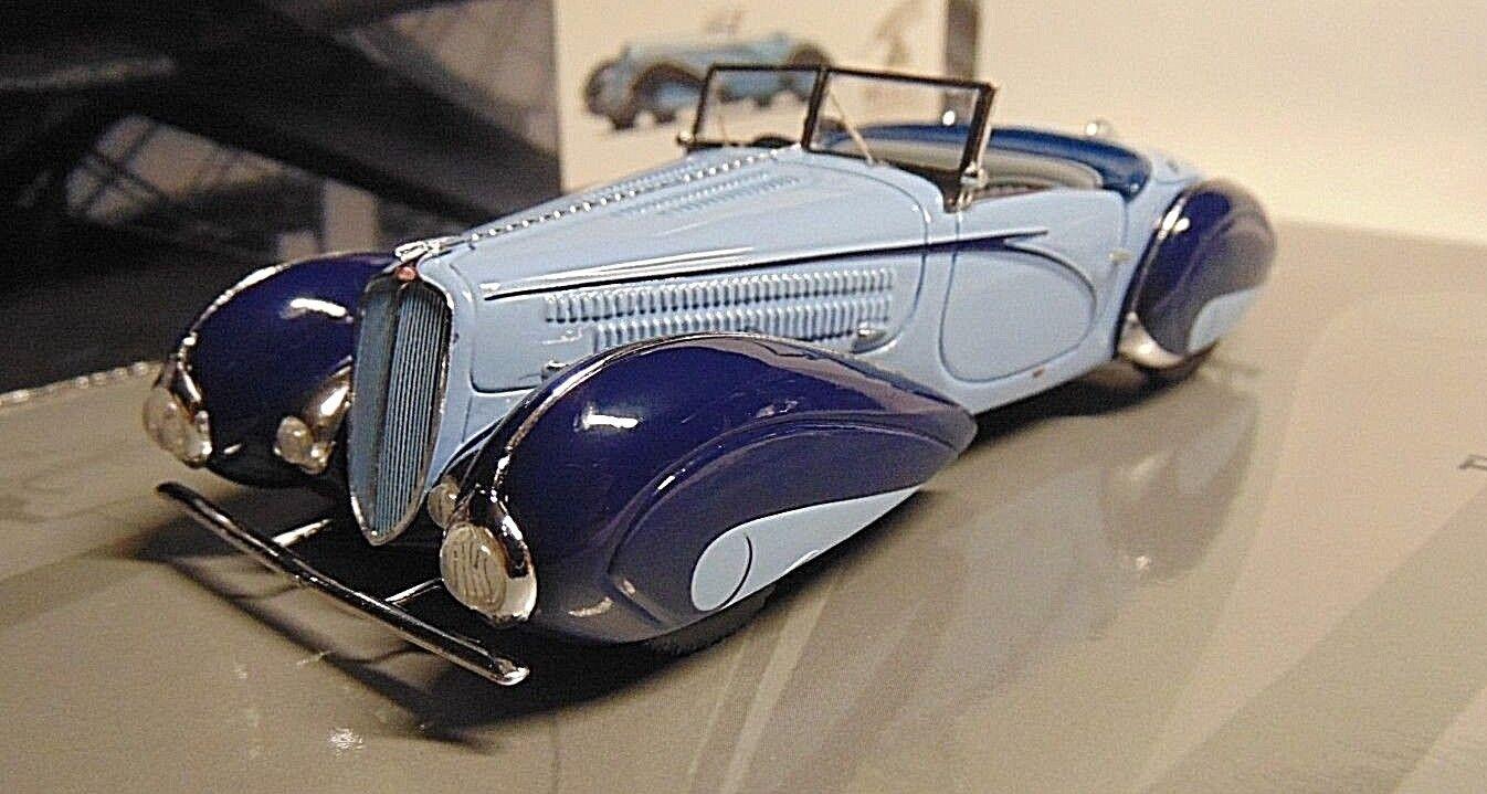 Delahaye art 135-m cabriolet  1937 mullin museum  1 43 minichamps 437116160