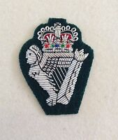 Royal Irish Rangers Officers Beret Badge, RIR, Army, Regiment, Cap, Military