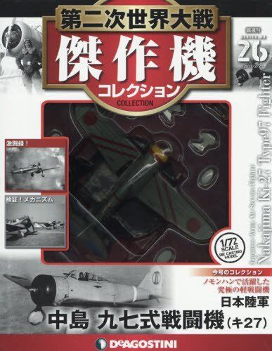 Japanese WW2 Diecast Fighter Aircraft Airplane Model 1/72 Nakajima Ki From japan