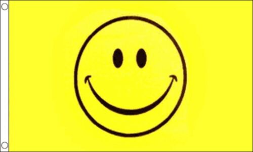Happy Face Emoji 3/'x2/' Flag