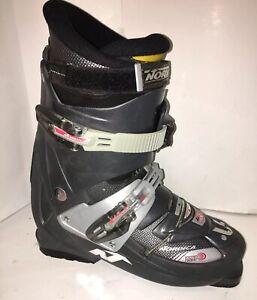 Nordica-L-tech-FX-Men-039-s-Ski-Boots-Size-10-5-Mondo-28-5-325mm-Gray-Black