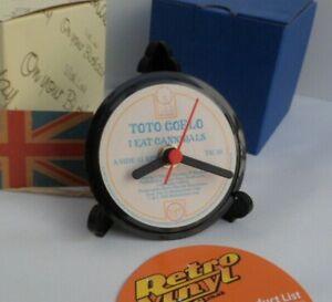 TOTO-COELO-CLOCK-Actual-Vinyl-Record-Desk-Table-Clock-Vintage