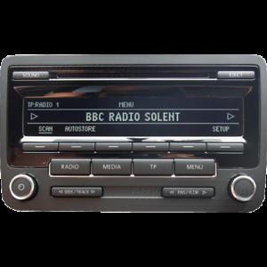VOLKSWAGEN-RCD310-cd-radio-reproductor-de-MP3-estereo-de-coche-codigo-Golf-Polo-Passat-Caddy-VW