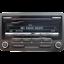 VOLKSWAGEN-RCD310-cd-radio-reproductor-de-MP3-estereo-de-coche-codigo-Golf-Polo-Passat-Caddy-VW miniatura 1