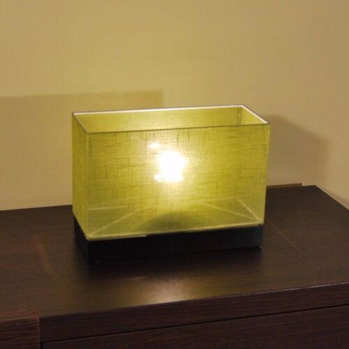 Tischlampe JLN17D Holz Tischleuchte Nachttischlampe Lampe Leseleuchte Leuchte